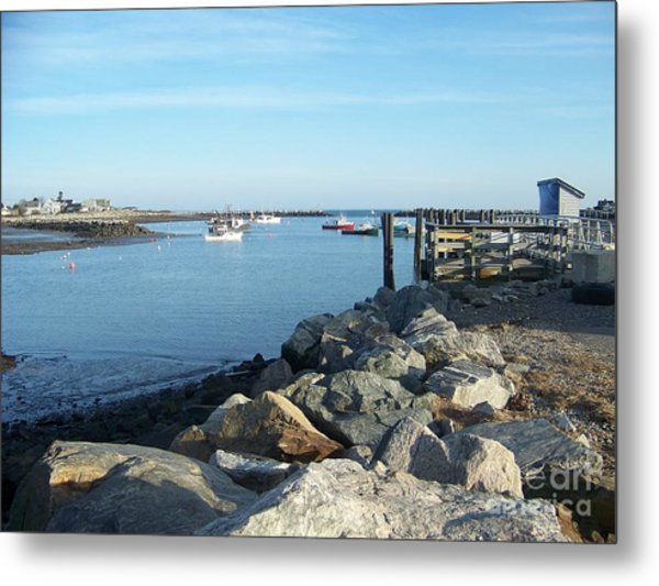 Rye Harbor  Metal Print