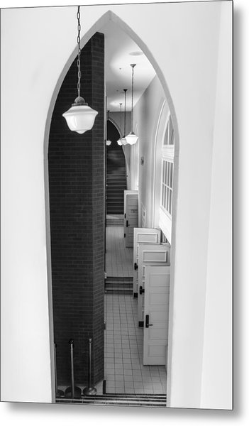 Ryman Auditorium Entrance Metal Print