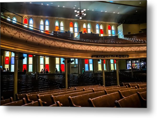 Ryman Colors Metal Print