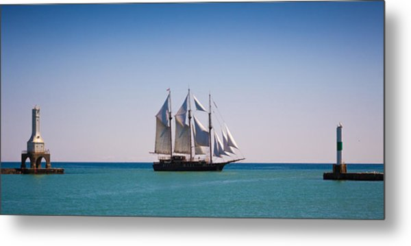 s/v Peacemaker Opening Metal Print