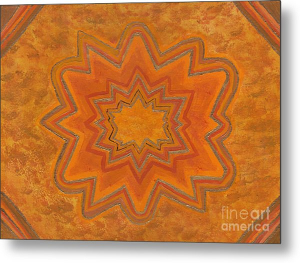Sacral Flower Metal Print