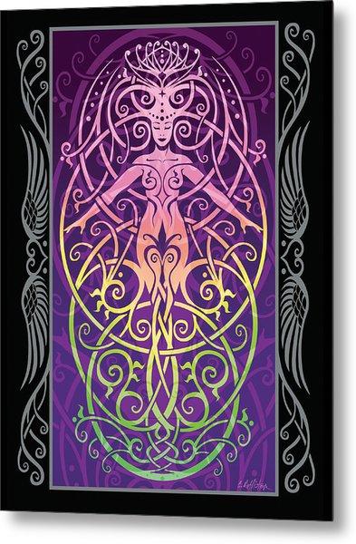 Sacred Ecology V.2 Metal Print