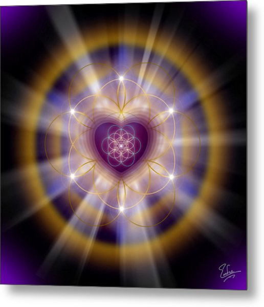 Sacred Geometry 204 Metal Print