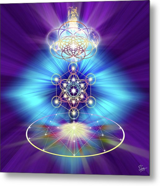 Sacred Geometry 30 Metal Print