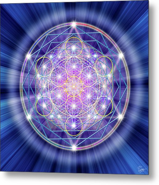 Sacred Geometry 46 Metal Print