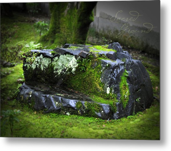 Sacred Ground Metal Print by Barbara Bitner
