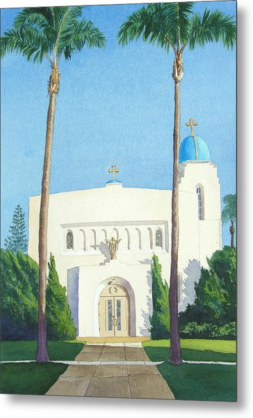 Sacred Heart Church Coronado Metal Print