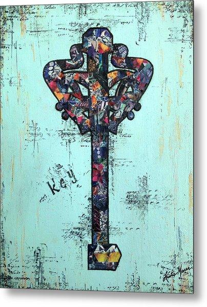 Sacred Key Metal Print