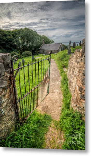 Metal Print featuring the photograph Sacred Path by Adrian Evans