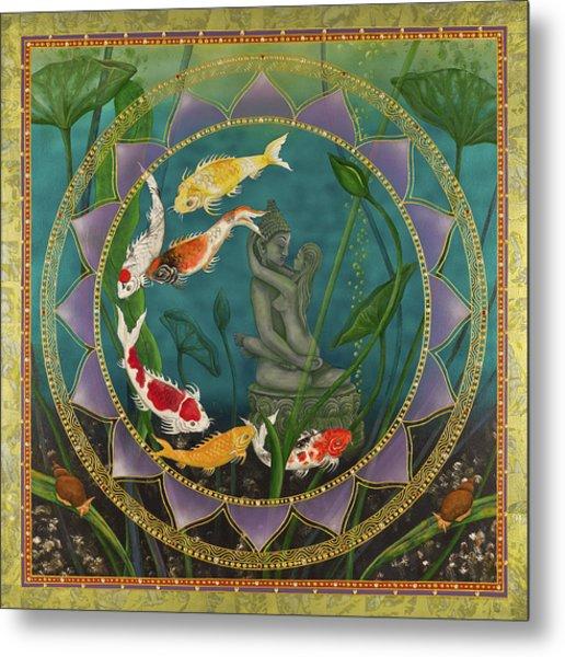Sacred Pond Metal Print