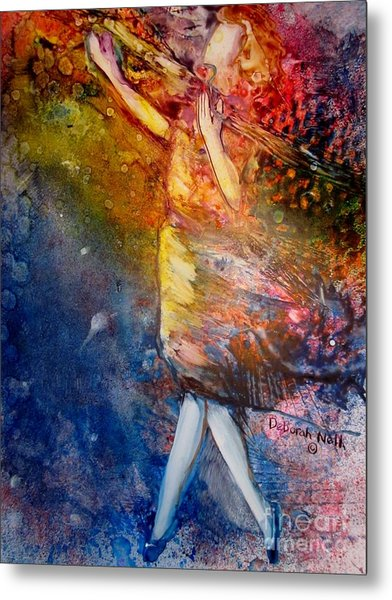 Metal Print featuring the painting Sacrifice Of Praise by Deborah Nell