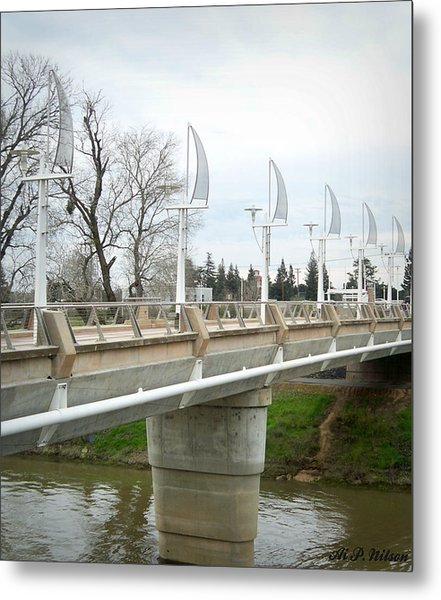 Sacramento California Water District Metal Print