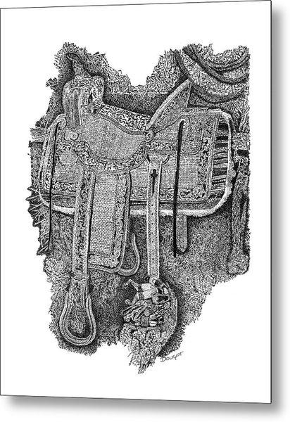 Saddle 1 Metal Print