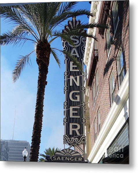 Saenger Theater New Orleans				 Metal Print