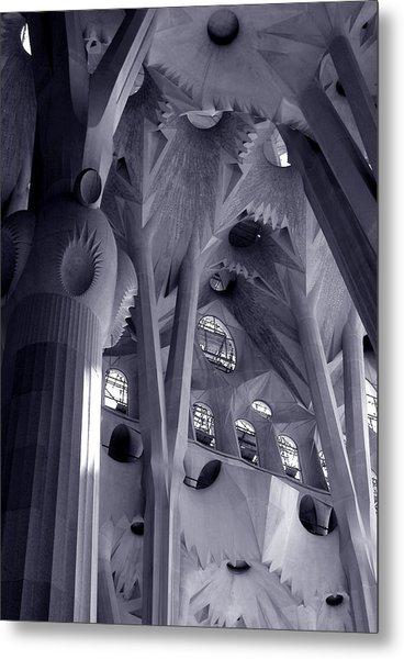 Sagrada Familia Vault Metal Print