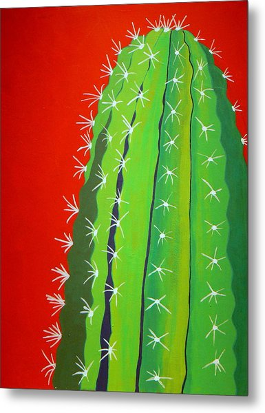 Saguaro Cactus Metal Print