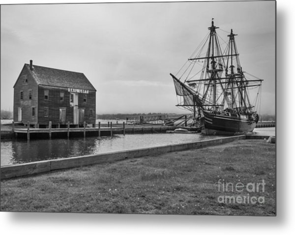 Sail Loft And Clipper Metal Print