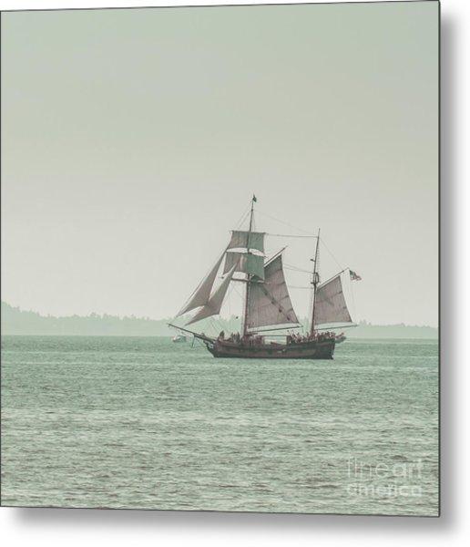 Sail Ship 2 Metal Print