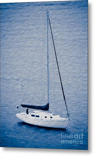 Sailboat Adventure Metal Print