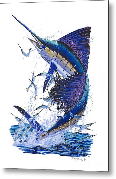 Sailfish Metal Print