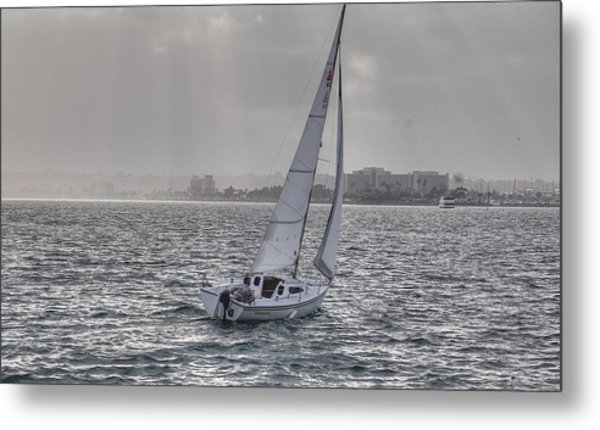 Sailing Bliss  Metal Print