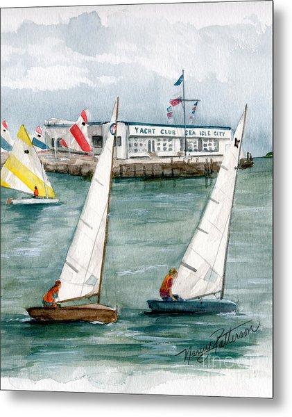 Sailing Class  Metal Print