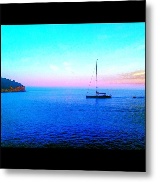 Sailing In Dubrovnik Metal Print by Maeve O Connell