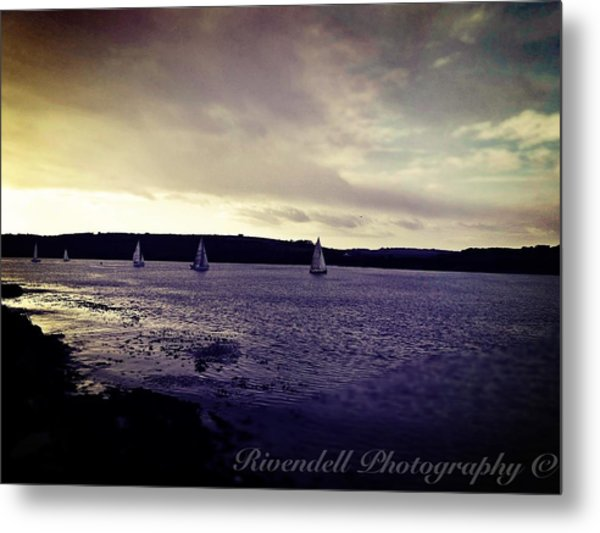 Sailing In Kinsale Metal Print by Maeve O Connell
