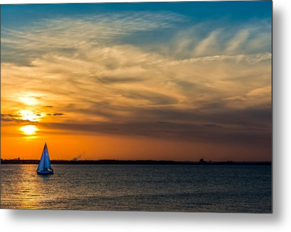 Sailing On The Chesapeake Metal Print