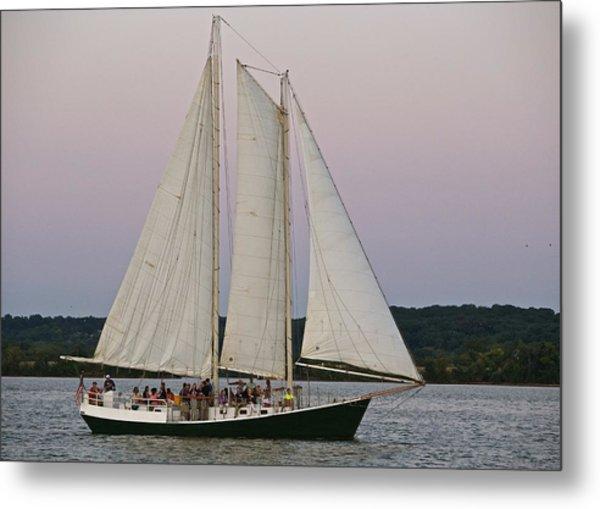 Sailing On The Potomac Metal Print