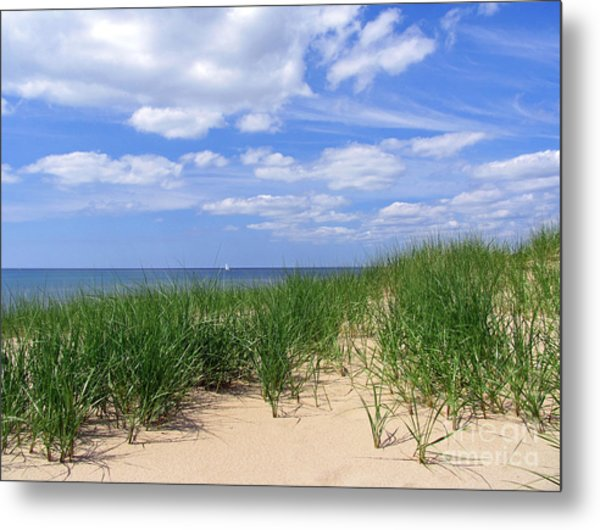 Sailing With The Windward Sky Metal Print
