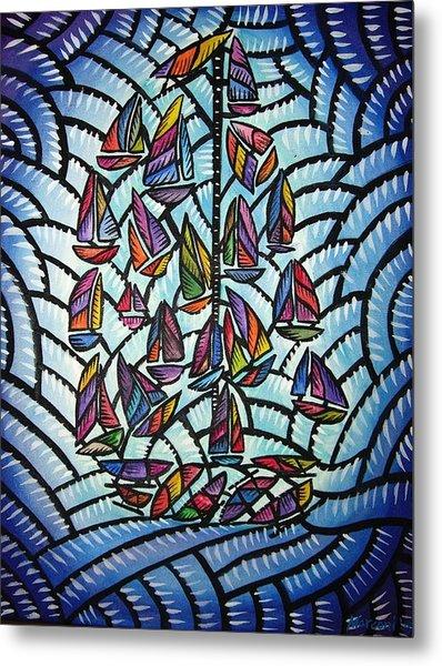 Sails 2008 Metal Print