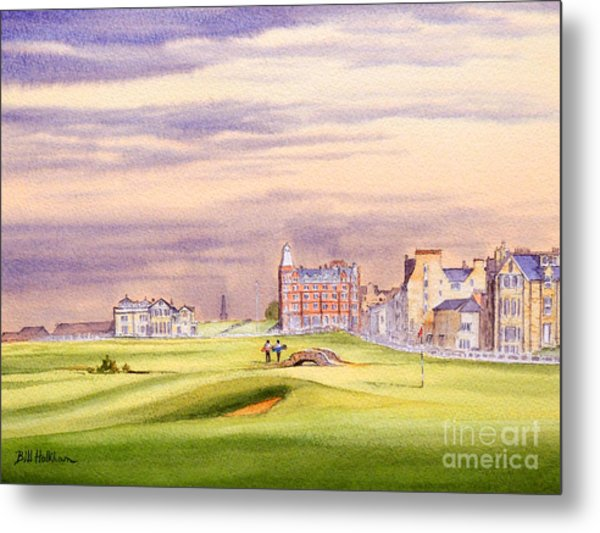 Saint Andrews Golf Course Scotland - 17th Green Metal Print