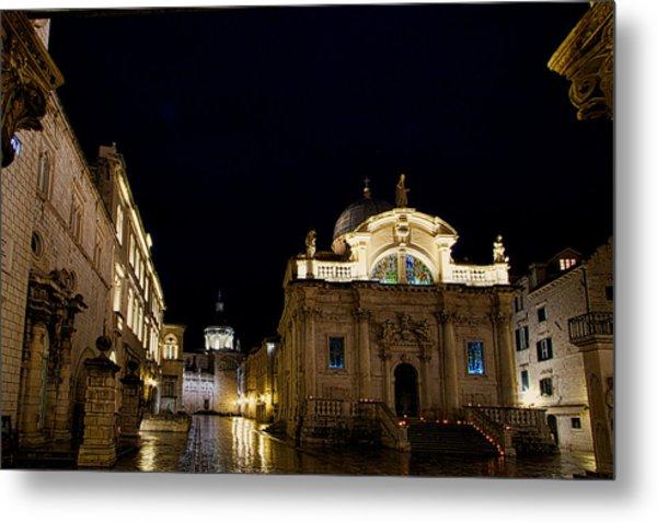 Saint Blaise Church - Dubrovnik Metal Print