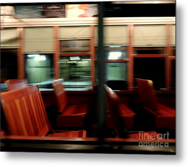 New Orleans Saint Charles Avenue Street Car In New Orleans Louisiana #6 Metal Print