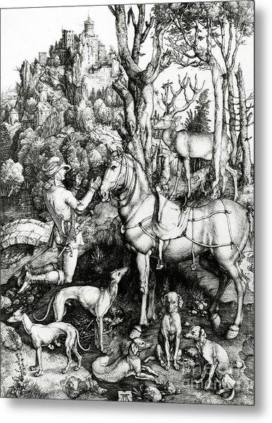 Saint Eustace Metal Print