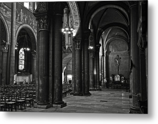 Saint Germain Des Pres - Paris Metal Print
