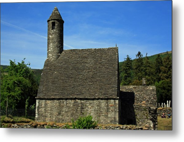 Saint Kevin's Church Metal Print