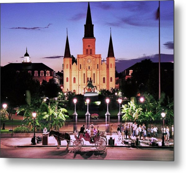 Saint Louis Cathedral New Orleans Metal Print