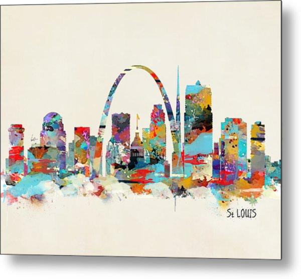 Saint Louis Missouri Metal Print