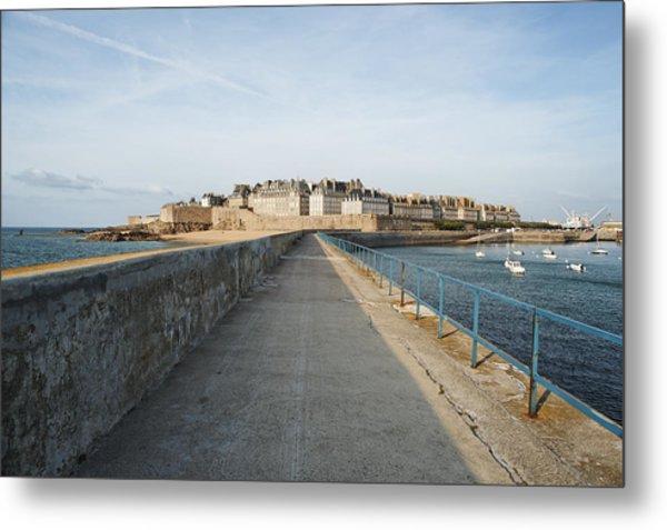 Saint Malo France Metal Print