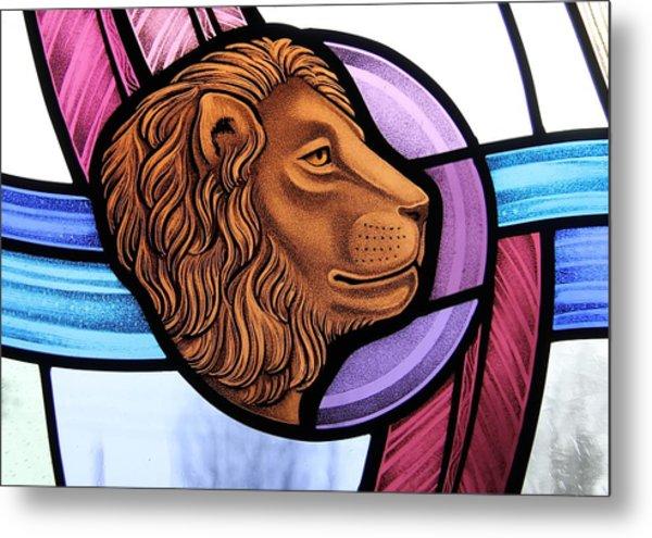 Saint Mark Lion Metal Print