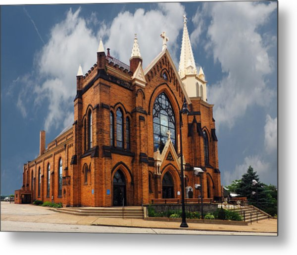 Saint Mary Of The Mount Church Metal Print