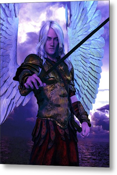 Saint Michael The Archangel/2 Metal Print