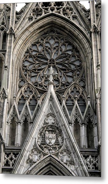 Saint Patrick's Cathedral Metal Print