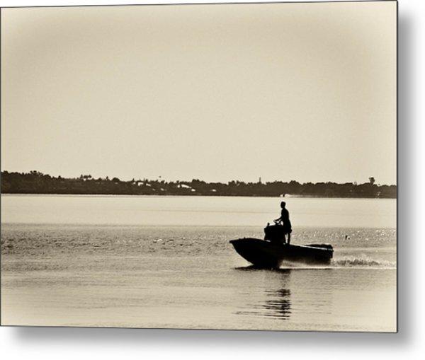 Saintlucieboating Metal Print by Patrick M Lynch