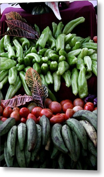 Salad Fixings Metal Print