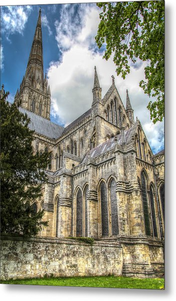 Salisbury In The Morning Metal Print