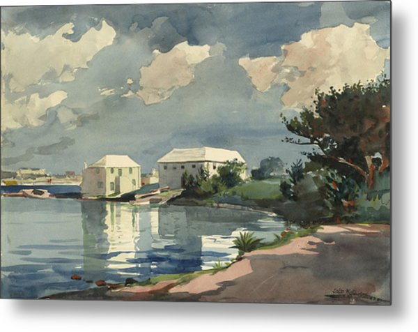 Salt Kettle Bermuda Metal Print