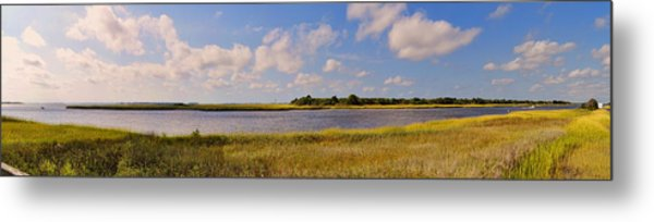 Salt Marsh Morning - Southport Metal Print